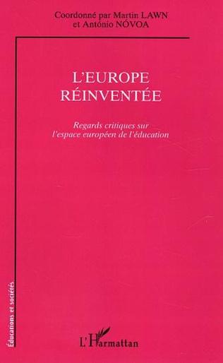Couverture L'Europe réinventée