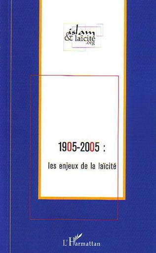 Couverture 1905-2005 : les enjeux de la laïcité