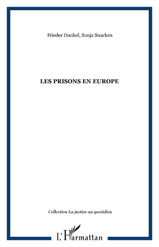 Couverture Les prisons en Europe