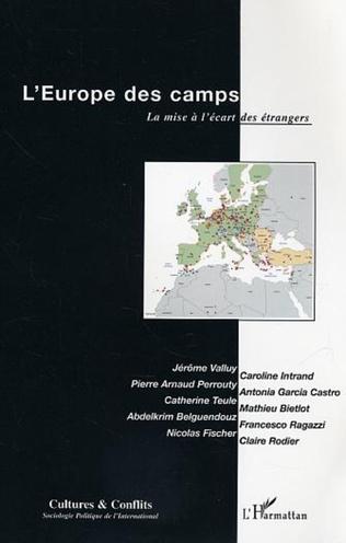 Couverture L'Europe des camps