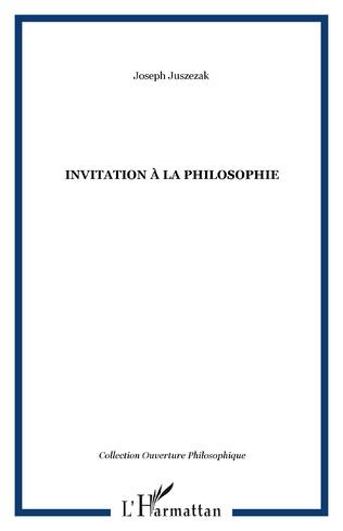 Couverture Invitation à la philosophie