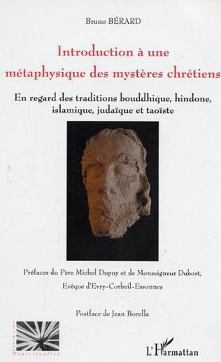 Couverture Introduction à une métaphysique des mystères chrétiens