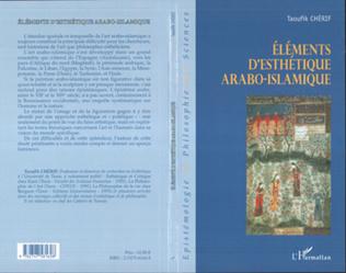 Couverture Eléments d'esthétique arabo-islamique