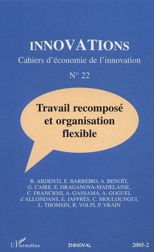 Couverture Travail recomposé et organisation flexible