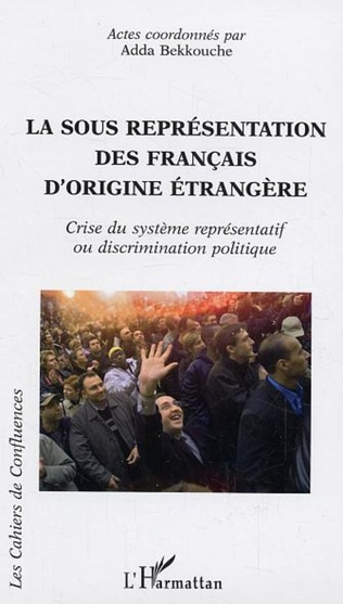 Couverture La sous représentation des français d'origine étrangère