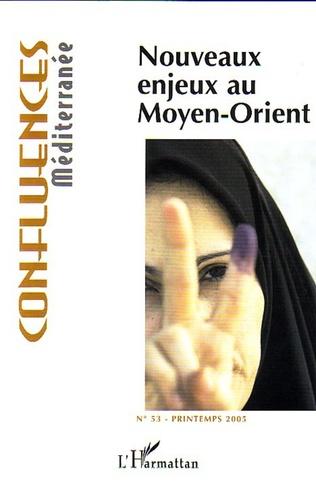 Couverture Nouveaux enjeux au Moyen-Orient