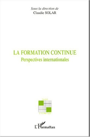 Couverture La formation continue