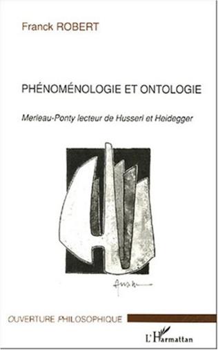 Couverture Phénoménologie et ontologie
