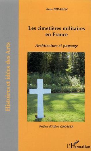 Couverture Les cimetières militaires en France