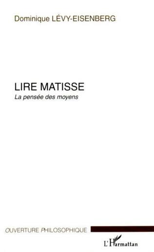 Couverture Lire Matisse