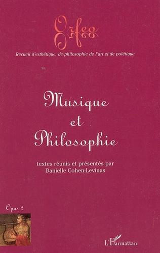 Couverture Musique et philosophie