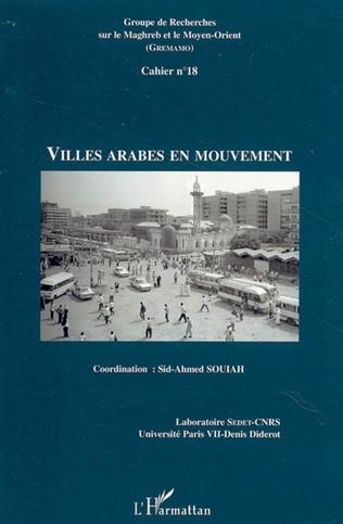 Couverture Villes arabes en mouvement