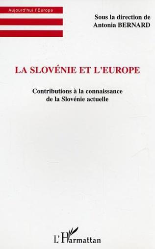 Couverture La Slovénie et l'Europe