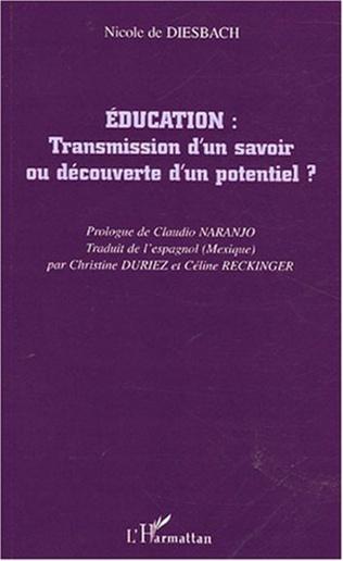 Couverture Education