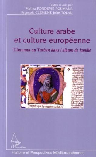 Couverture Culture arabe et culture européenne