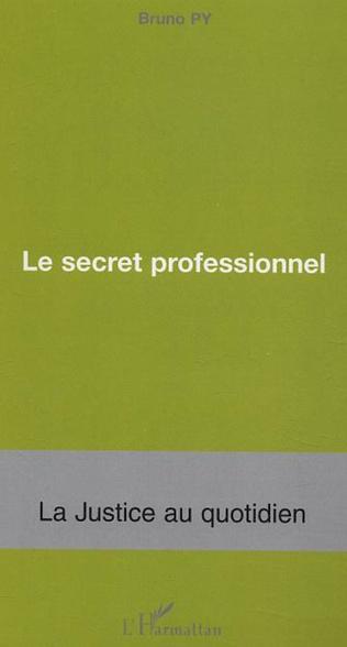 Couverture Le secret professionnel