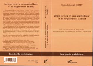 Couverture Mémoire sur le somnambulisme et le magnétisme animal