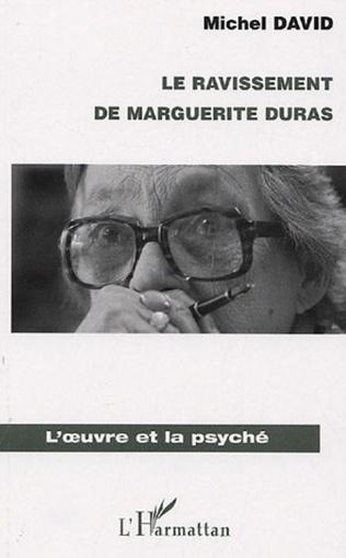 Couverture Le ravissement de Marguerite Duras