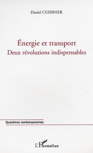 Couverture Energie et transport