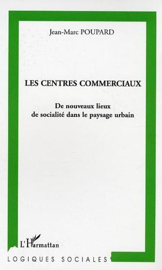 Couverture Les centres commerciaux