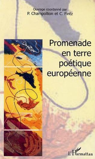 Couverture Promenade en terre poétique européenne