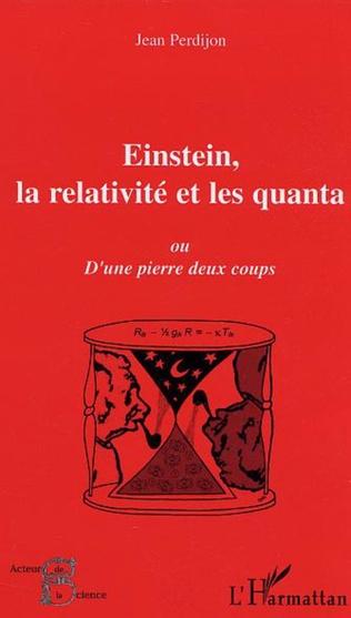 Couverture Einstein, la relativité et les quanta