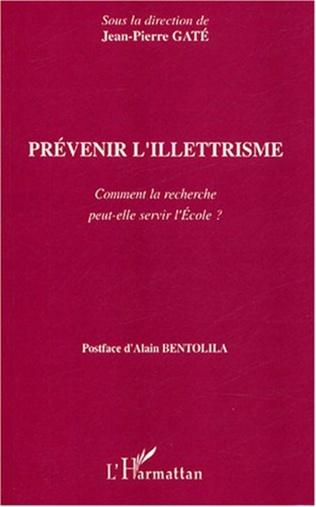 Couverture Prévenir l'illettrisme
