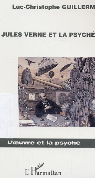 Couverture Jules Verne et la psyché