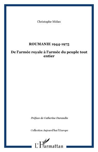 Couverture Roumanie 1944-1975