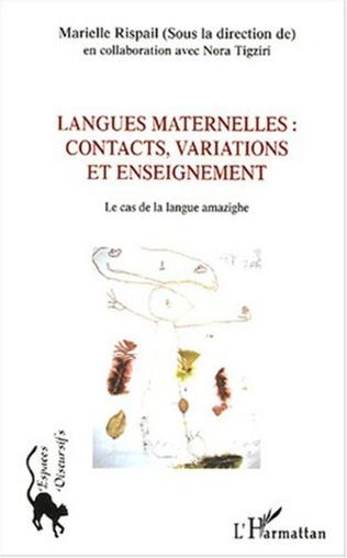Couverture Langues maternelles : contacts, variations et enseignement