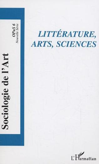 Couverture Littérature, arts, sciences