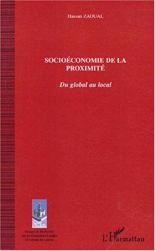 Couverture Socioéconomie de la proximité