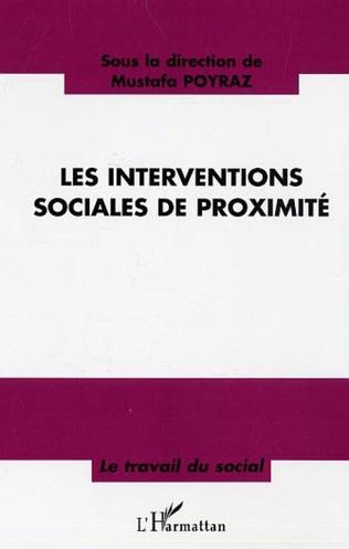 Couverture Les interventions sociales de proximité
