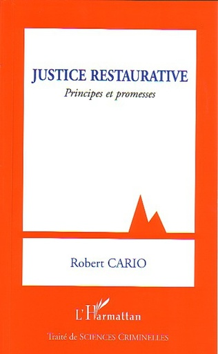 Couverture Justice restaurative