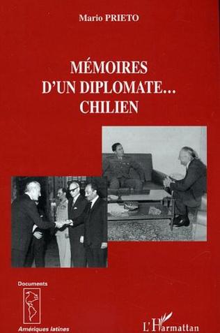 Couverture Mémoires d'un diplomate... chilien