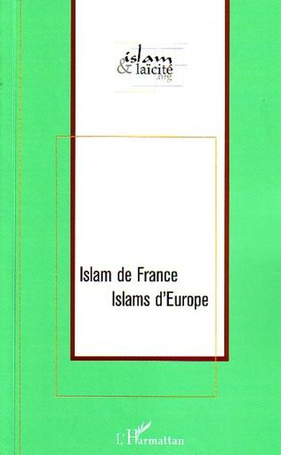 Couverture Islam de France Islams d'Europe