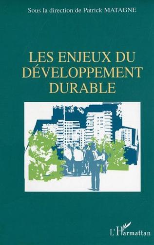 Couverture Les enjeux du développement durable