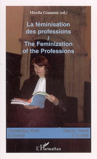 Couverture La féminisation des professions