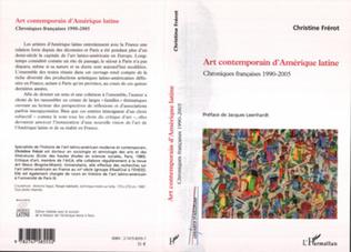 Couverture Art contemporain d'Amérique latine