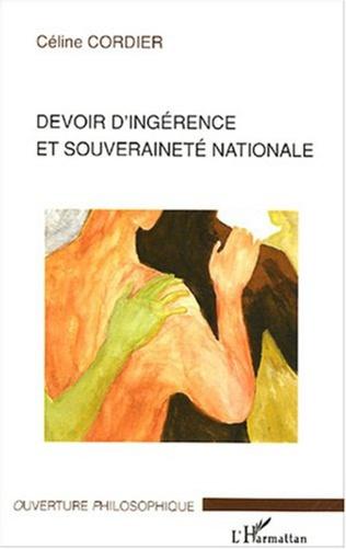 Couverture Devoir d'ingérence et souveraineté nationale