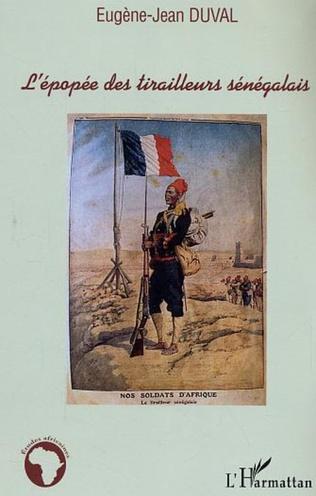 Couverture L'épopée des tirailleurs sénégalais
