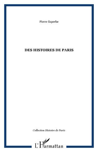 Couverture Des histoires de Paris