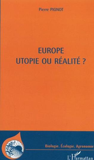 Couverture Europe utopie ou réalité ?