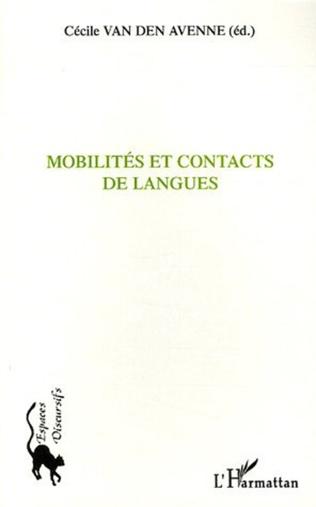 Couverture Mobilités et contacts de langues