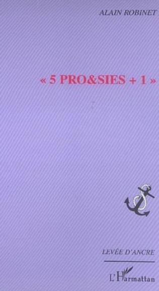 Couverture 5 PRO&SIES +1