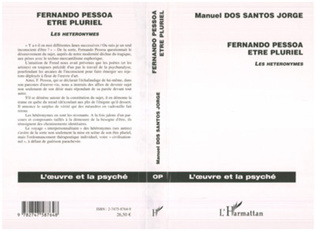 Couverture Fernando Pessoa Etre pluriel