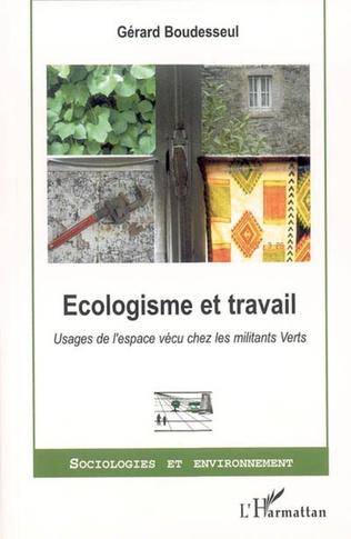 Couverture Ecologisme et travail