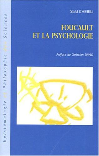 Couverture Foucault et la psychologie