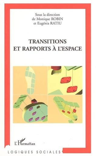 Couverture Transitions et rapports à l'espace
