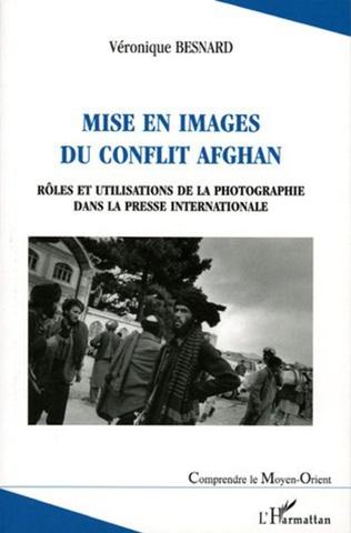 Couverture Mise en images du conflit afghan
